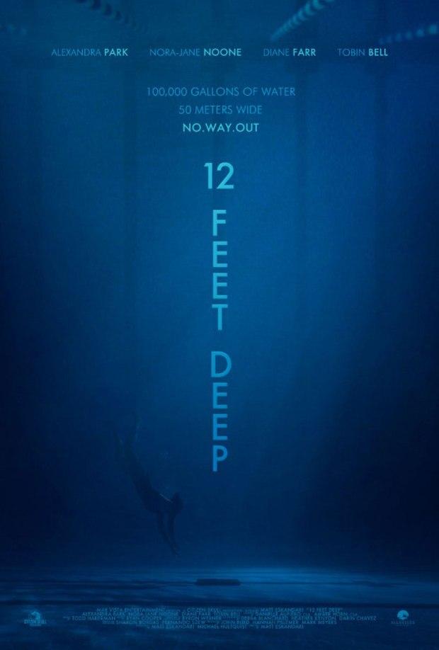 Swimming Pool Horror Movie: 12 Feet Deep