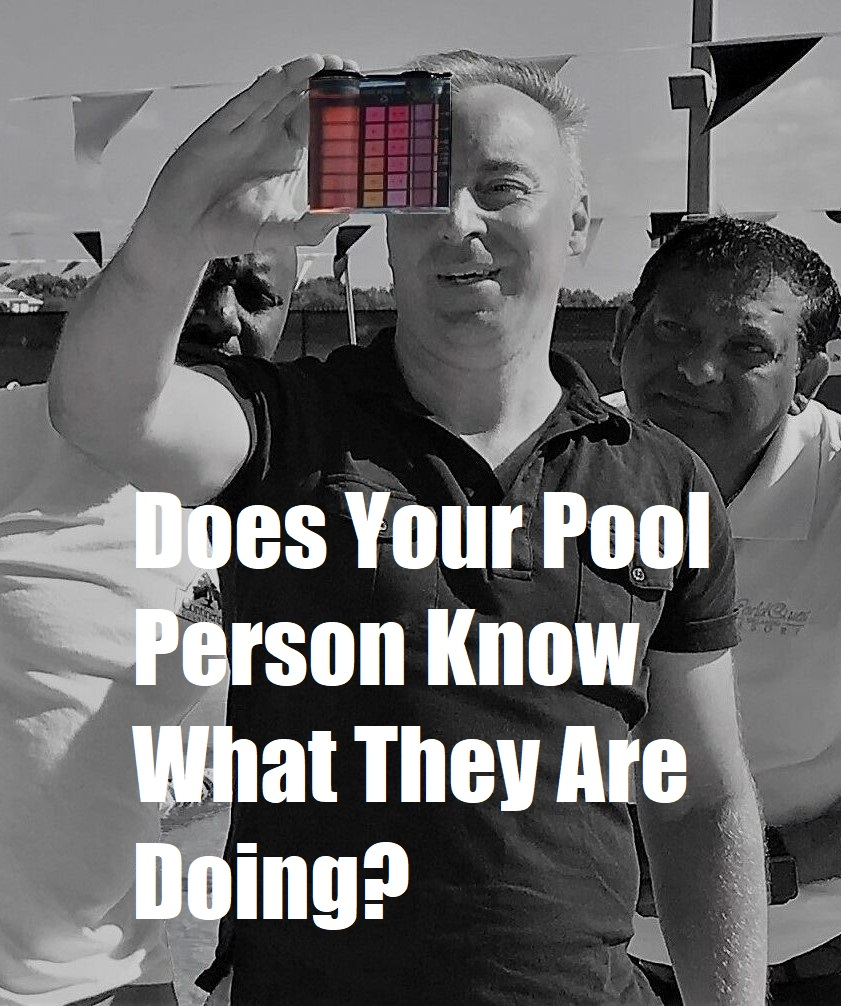 How Can a Homeowner Tell if a Pool Person Has Had Any Training?
