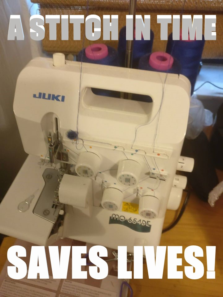 Pool Guy Saves Lives with Sewing Machine