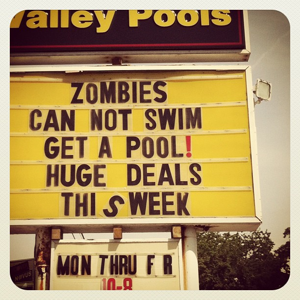 Apocalypse Good for Pool Business ?