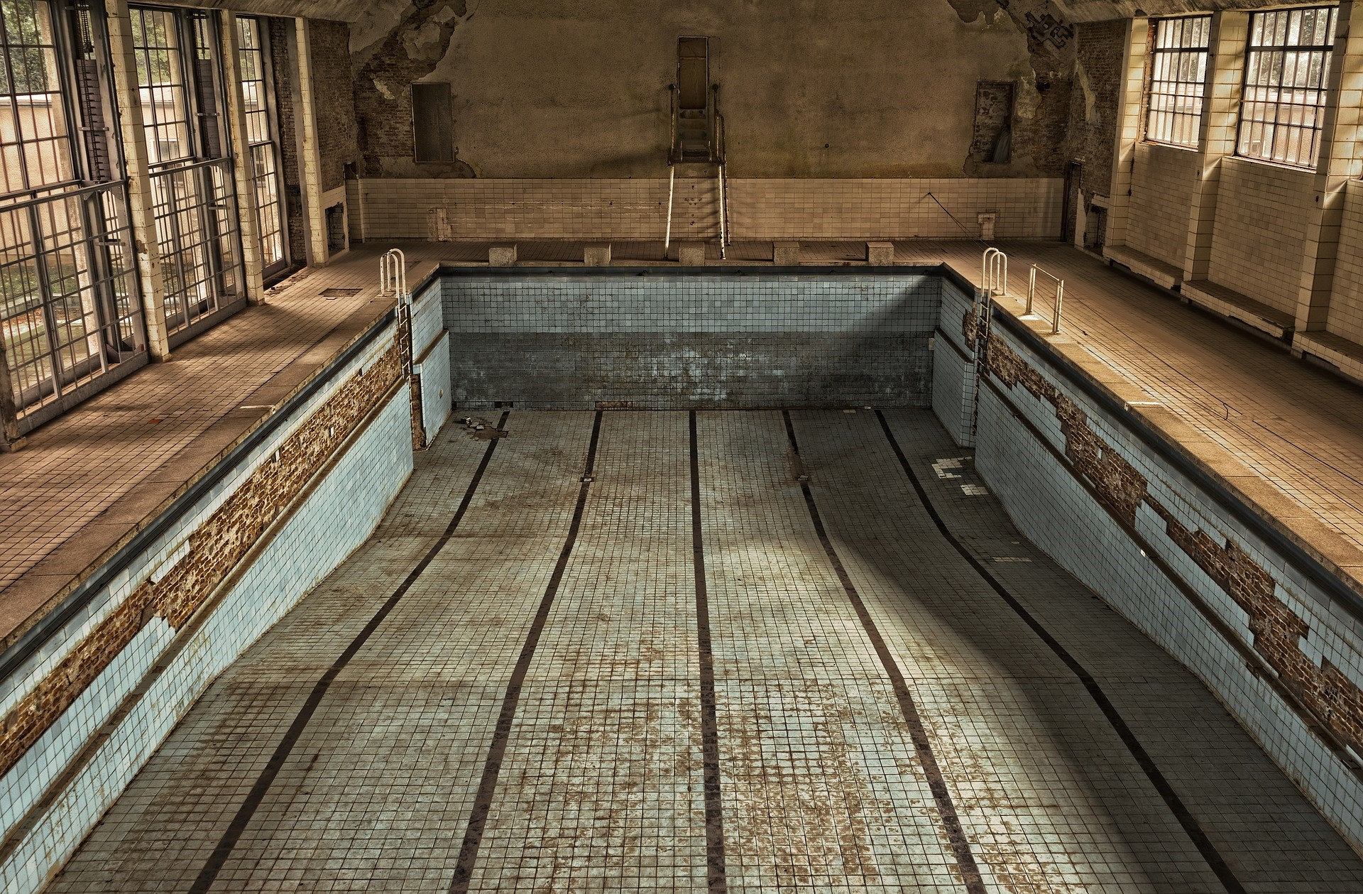 Paranormal Swimming Pools