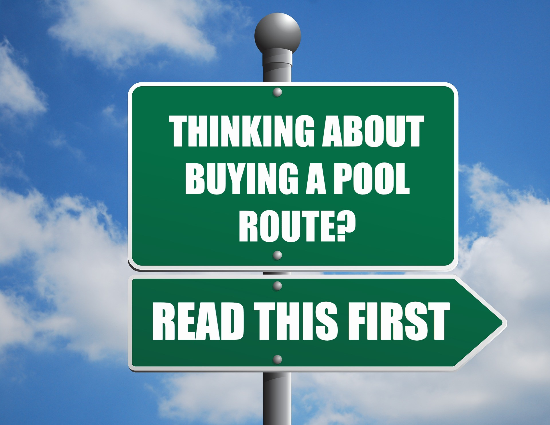 Pool Route Purchase
